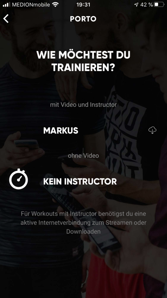 Die Fitness App Gettoworkout im Test 3