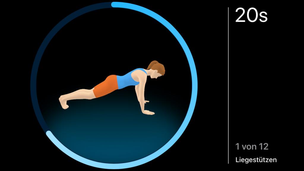 Die Fitness App Seven im Test 5
