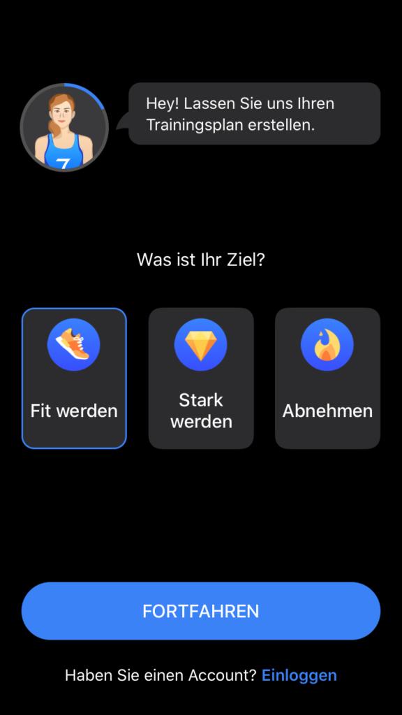 Die Fitness App Seven im Test 2