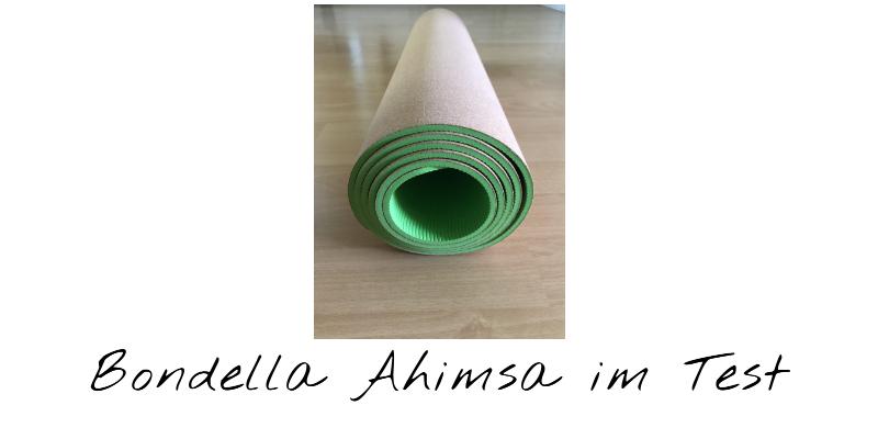 Bondella Ahimsa Kork Yogamatte im Test 9