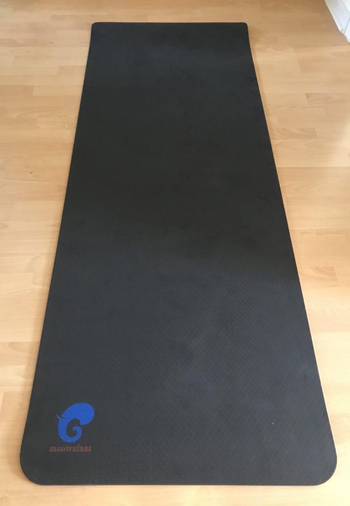 Yogamatt von oben